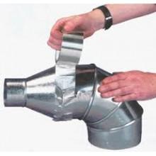 Алуминиево само-залепващо тиксо, за подвързване на въздуховоди и други