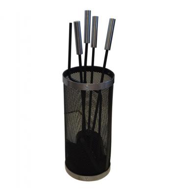 Комплект инструменти камина от 5 части