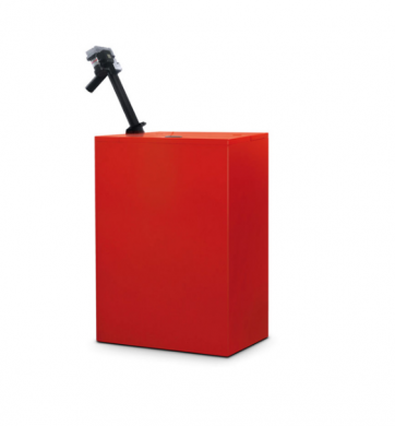 Бункер за пелети с автоматично зареждане 300 кг
