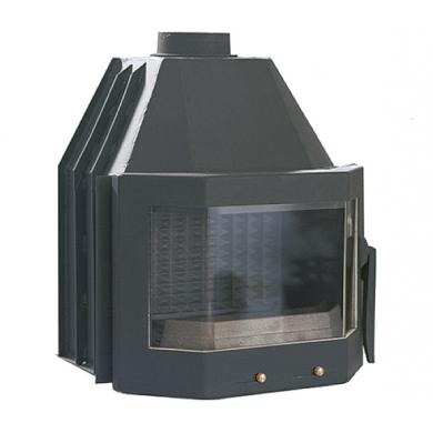Prizma 12 kW Българска горивна камера на дърва за вграждане
